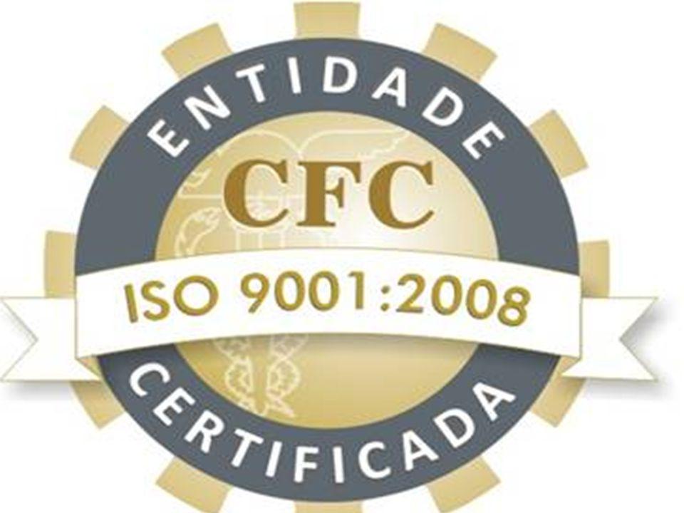 Ao final do vídeo, falar que a partir de agosto de 2013, daremos continuidade a este treinamento, com o fim de mostrar a vocês como funciona o Sistema de Gestão da Qualidade do CFC.