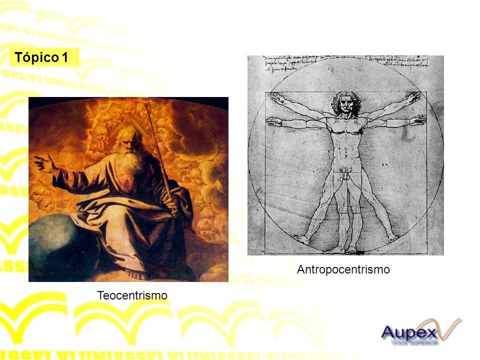 Tópico 1 Antropocentrismo Teocentrismo