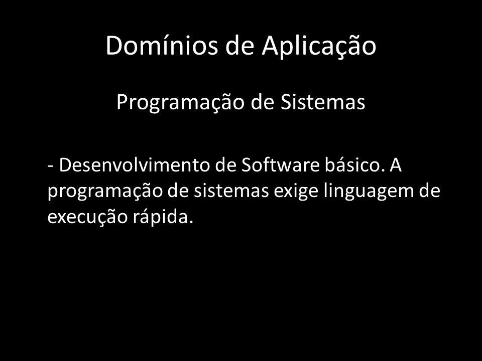 Programação de Sistemas