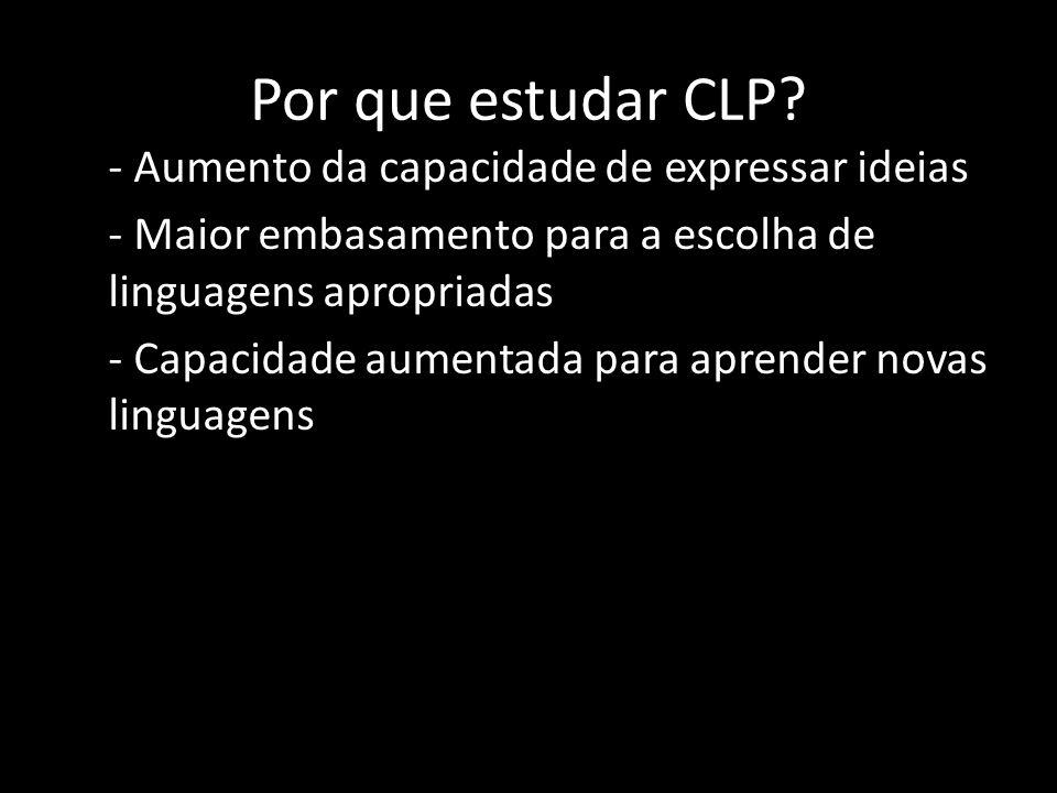 Por que estudar CLP
