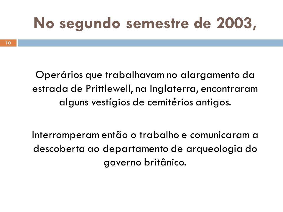 No segundo semestre de 2003,