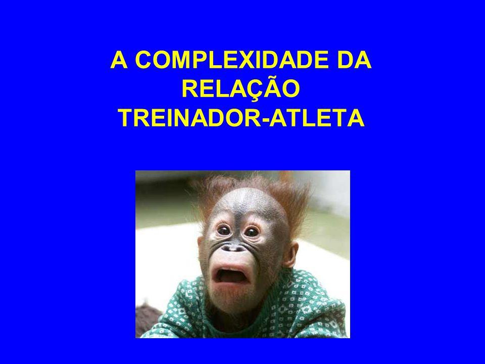 A COMPLEXIDADE DA RELAÇÃO TREINADOR-ATLETA