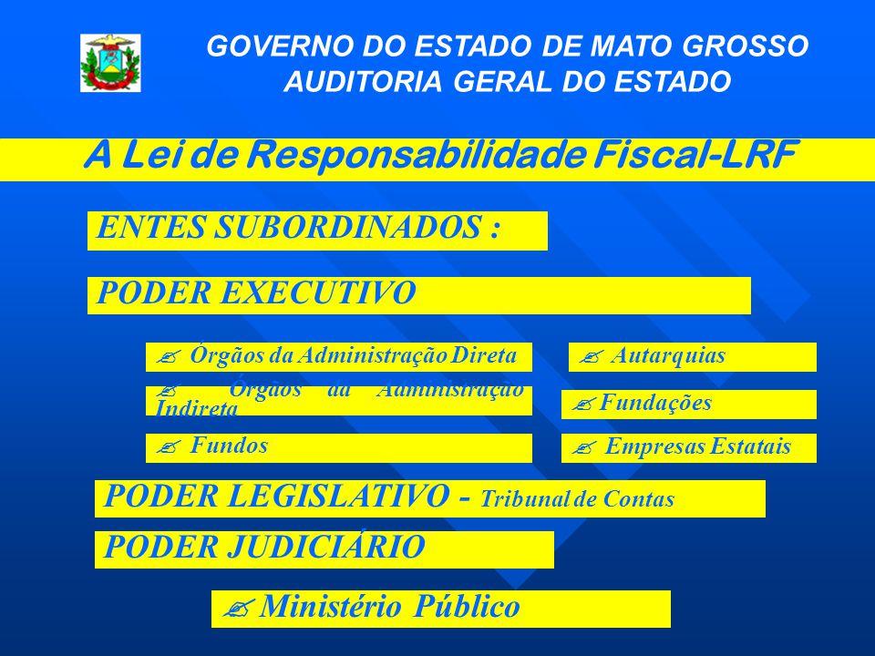 A Lei de Responsabilidade Fiscal-LRF