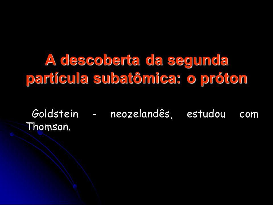 A descoberta da segunda partícula subatômica: o próton