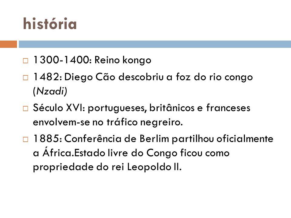 história 1300-1400: Reino kongo