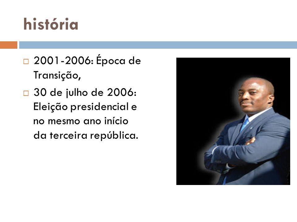 história 2001-2006: Época de Transição,