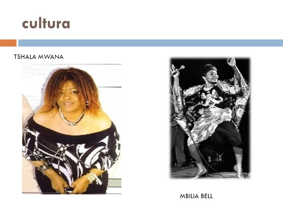 cultura TSHALA MWANA MBILIA BELL