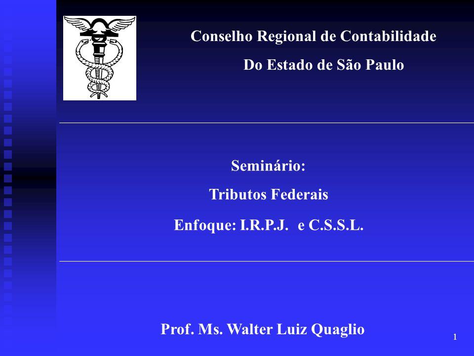 Prof. Ms. Walter Luiz Quaglio