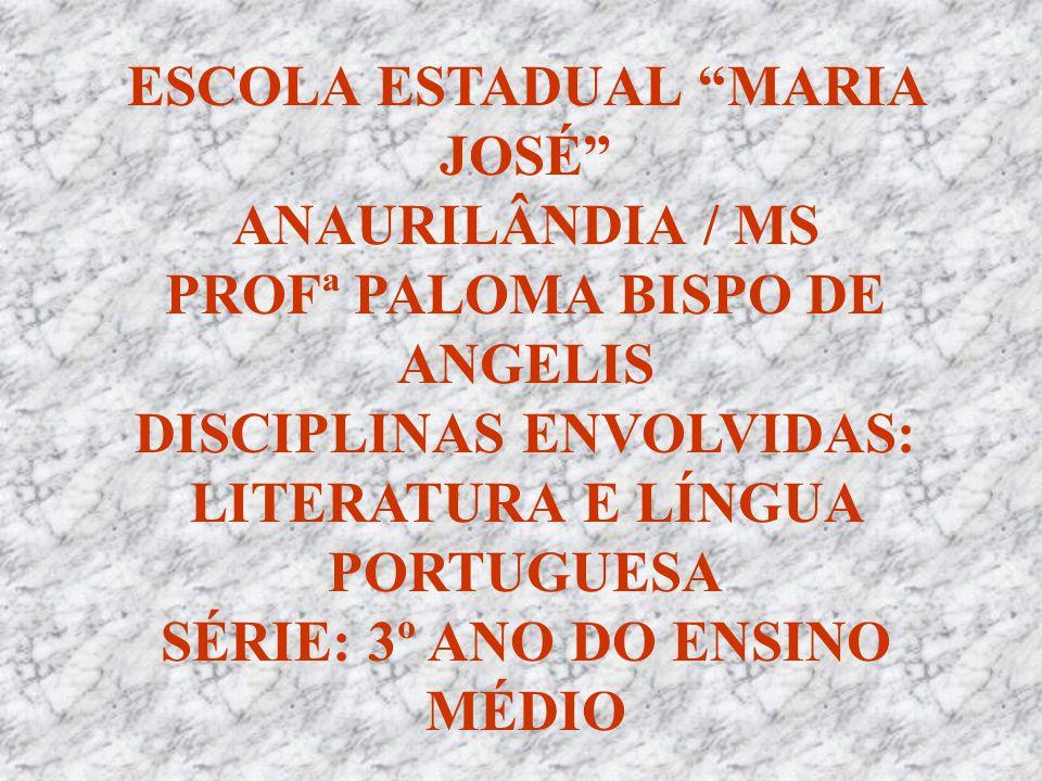 ESCOLA ESTADUAL MARIA JOSÉ ANAURILÂNDIA / MS