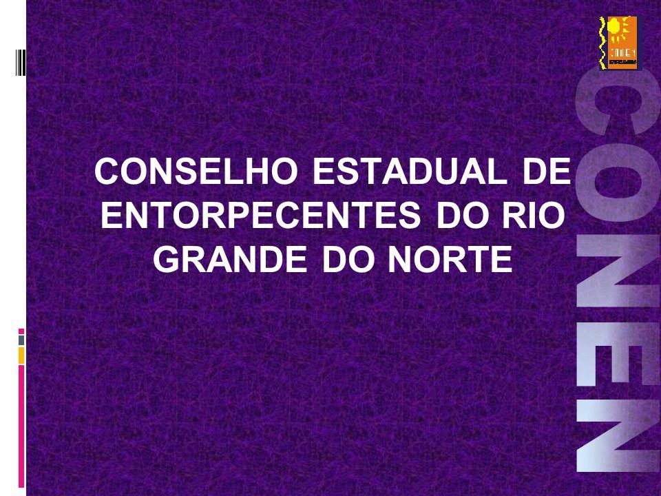 CONSELHO ESTADUAL DE ENTORPECENTES DO RIO GRANDE DO NORTE