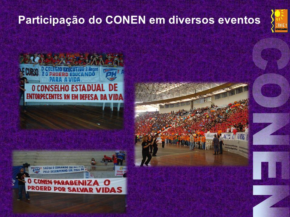 Participação do CONEN em diversos eventos