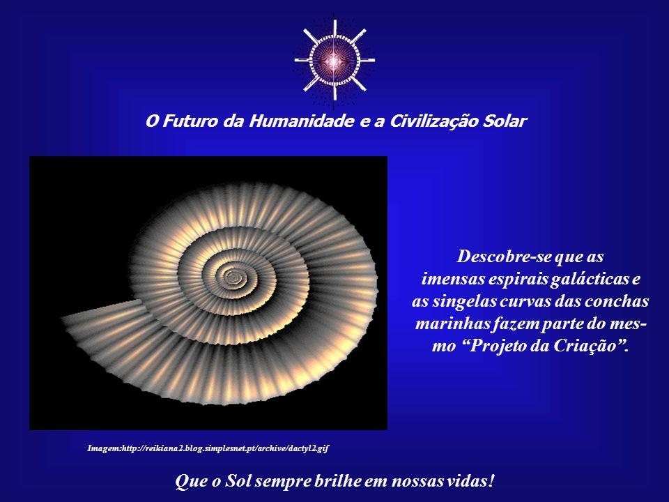 ☼ Descobre-se que as imensas espirais galácticas e