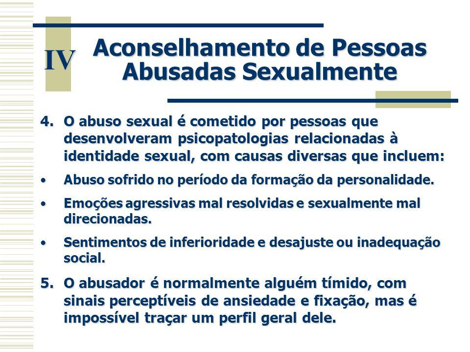 Aconselhamento de Pessoas Abusadas Sexualmente