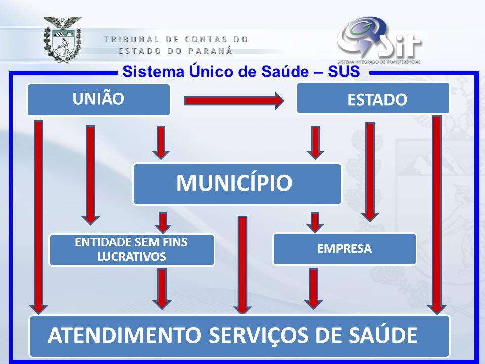 ENTIDADE SEM FINS LUCRATIVOS ATENDIMENTO SERVIÇOS DE SAÚDE