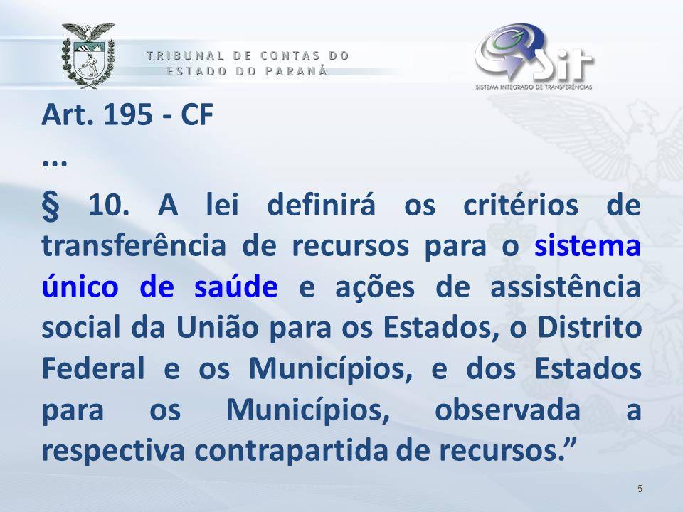 Art. 195 - CF ...