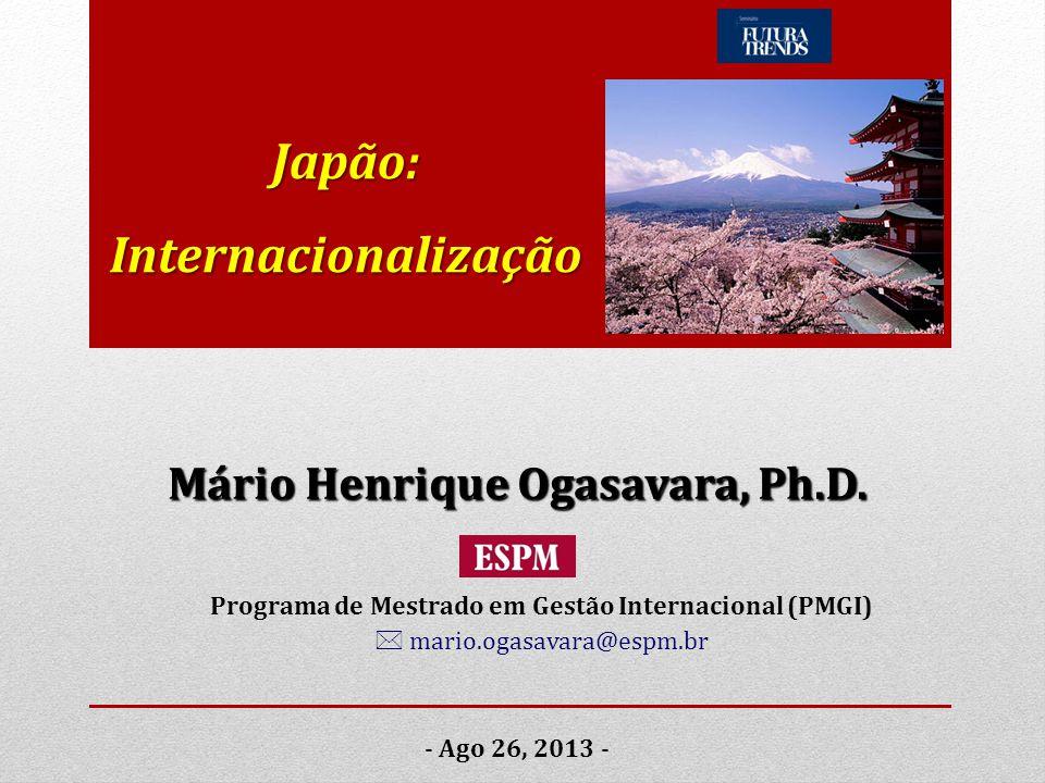 Japão: Internacionalização