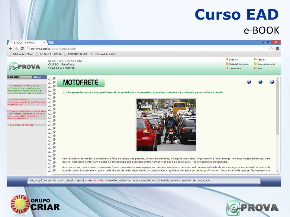 Curso EAD e-BOOK