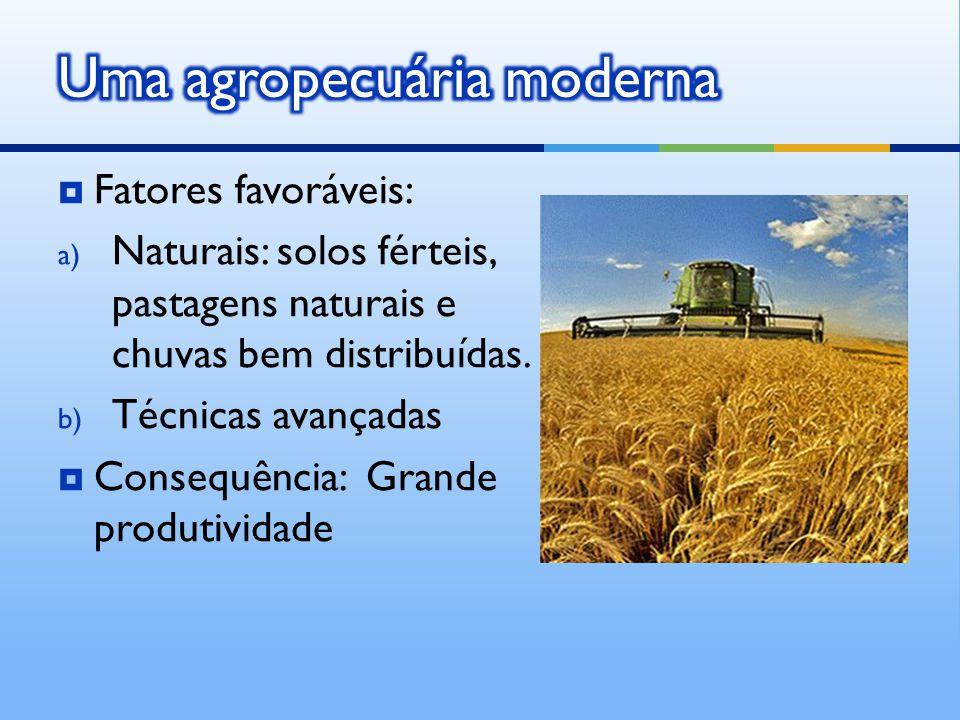 Uma agropecuária moderna