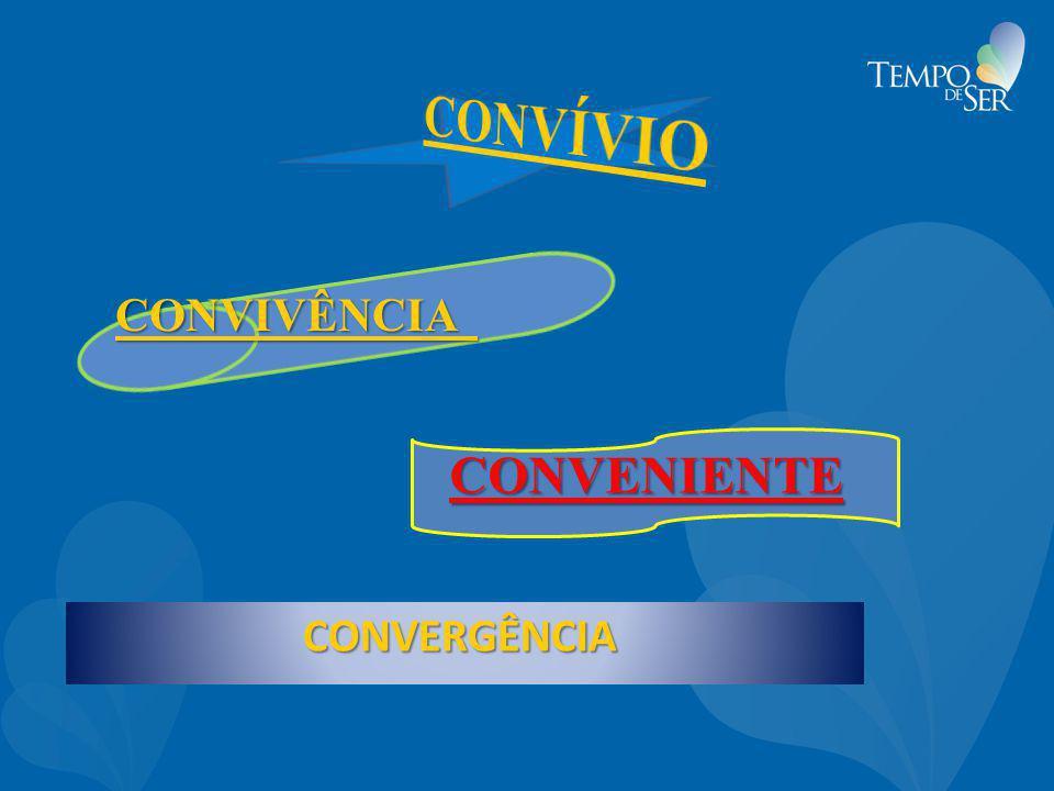 CONVÍVIO CONVIVÊNCIA CONVENIENTE CONVERGÊNCIA