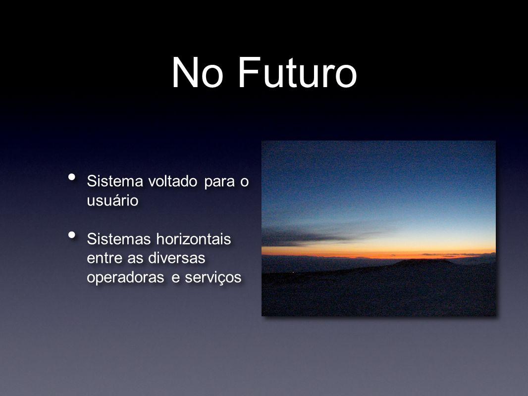 No Futuro Sistema voltado para o usuário