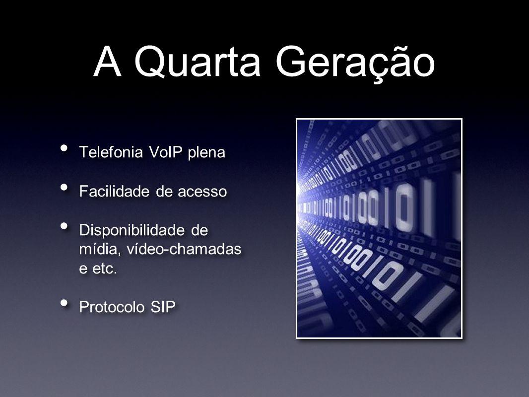 A Quarta Geração Telefonia VoIP plena Facilidade de acesso