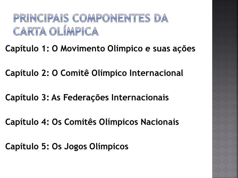 Principais Componentes da Carta Olímpica