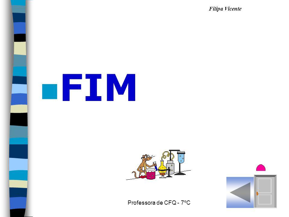 FIM Professora de CFQ - 7ºC