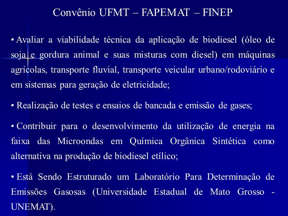 Convênio UFMT – FAPEMAT – FINEP