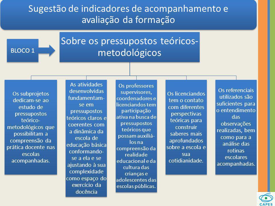 Sobre os pressupostos teóricos-metodológicos