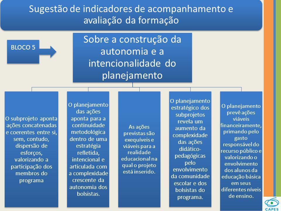 Sobre a construção da autonomia e a intencionalidade do planejamento