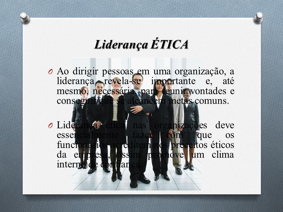 Liderança ÉTICA