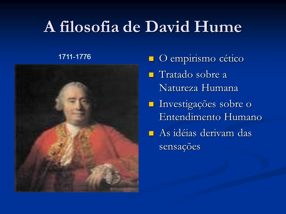A filosofia de David Hume