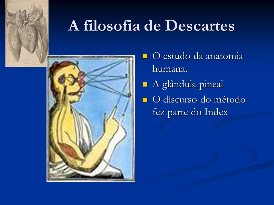 A filosofia de Descartes