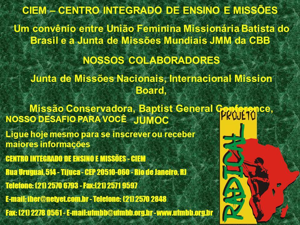 CIEM – CENTRO INTEGRADO DE ENSINO E MISSÕES