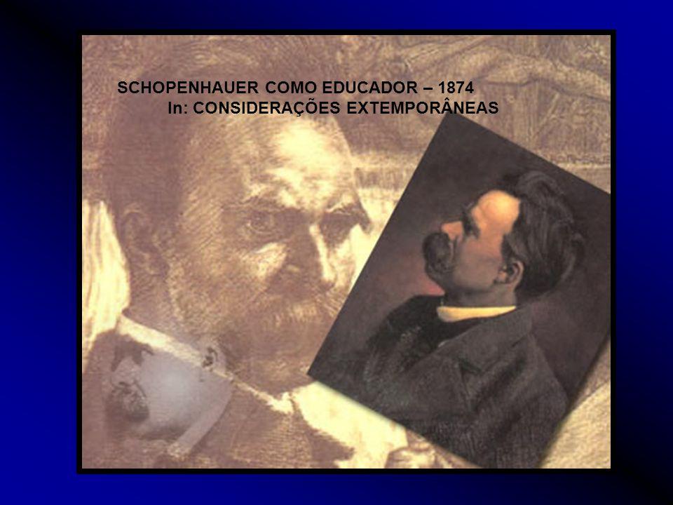 In: CONSIDERAÇÕES EXTEMPORÂNEAS
