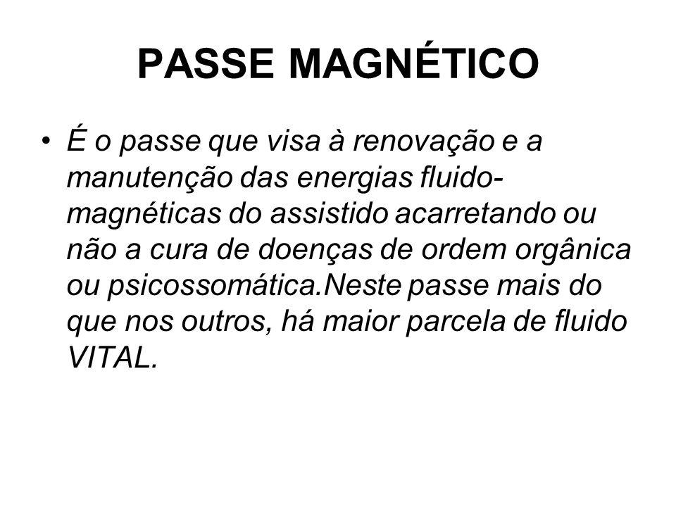 PASSE MAGNÉTICO