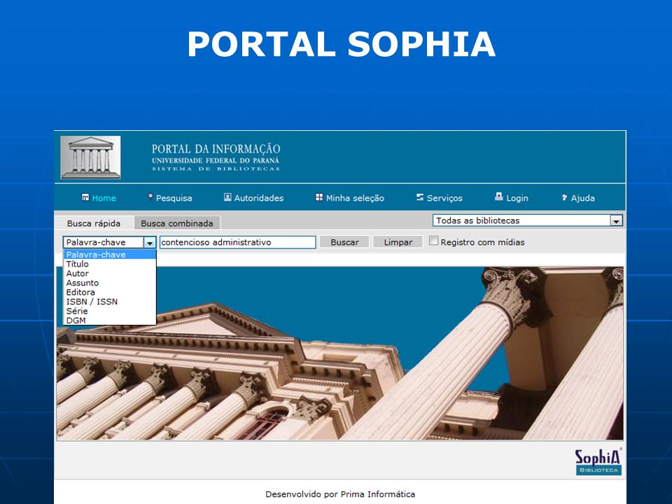PORTAL SOPHIA