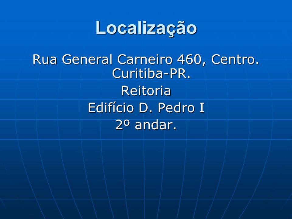 Rua General Carneiro 460, Centro. Curitiba-PR.