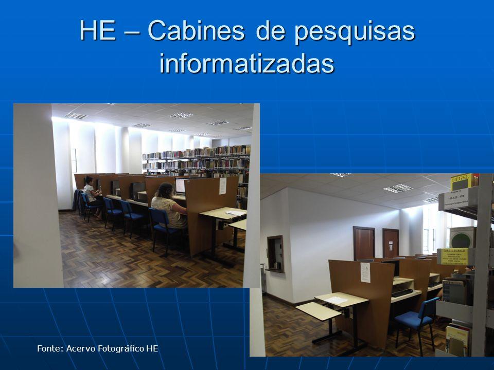 HE – Cabines de pesquisas informatizadas