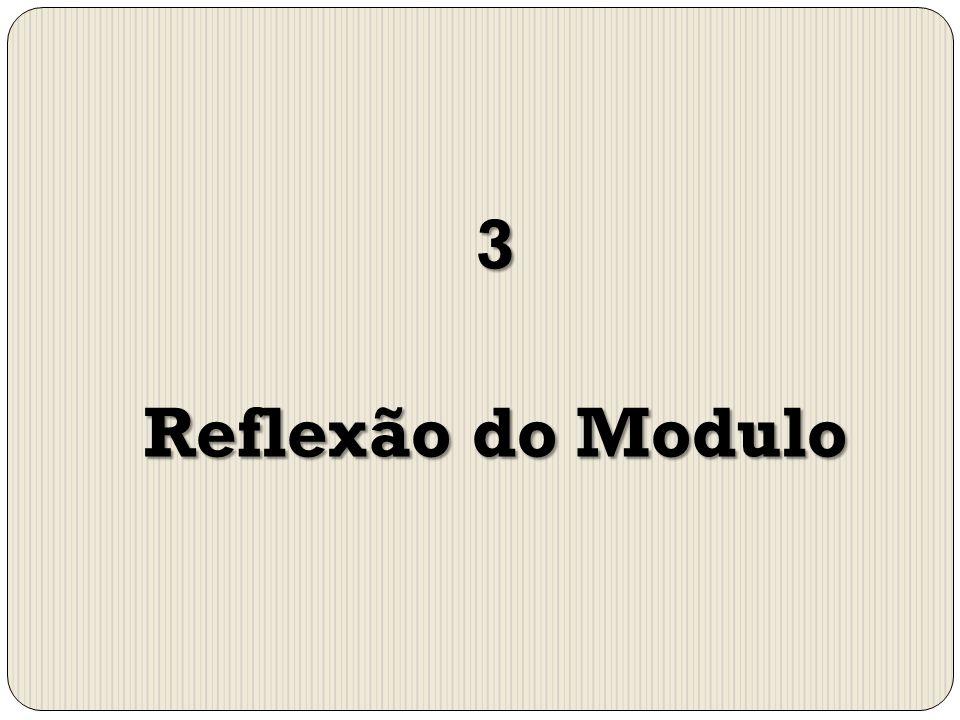 3 Reflexão do Modulo