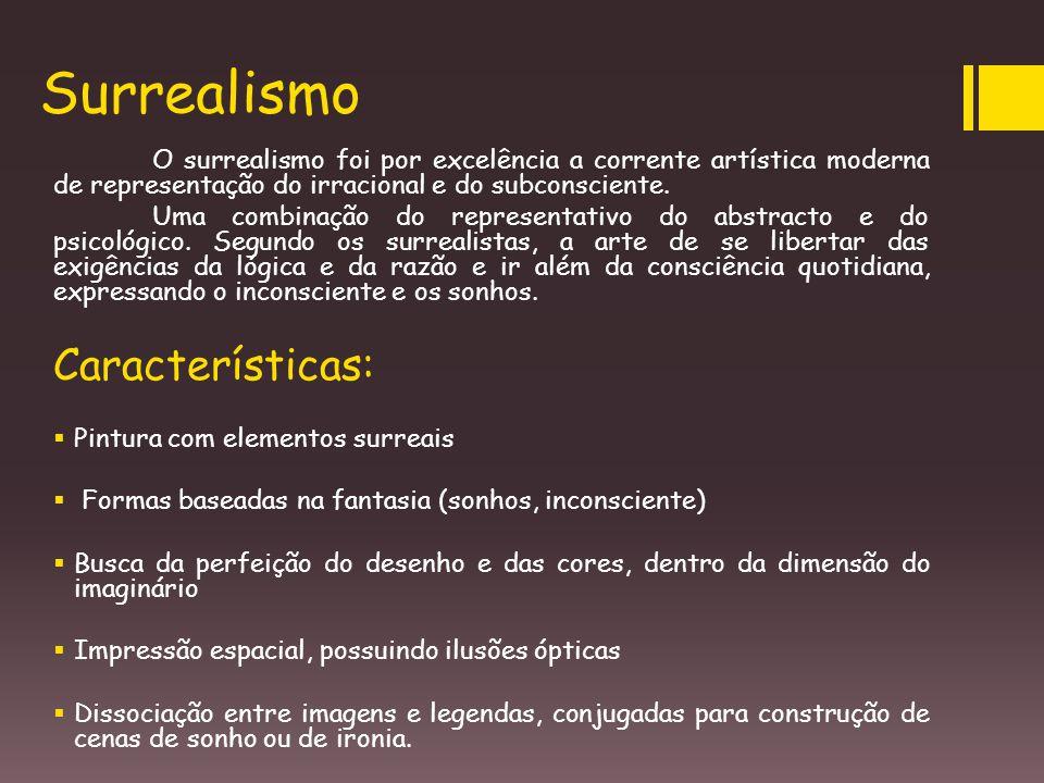 Surrealismo Características: