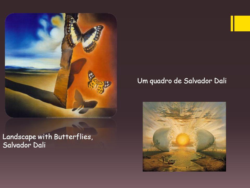 Um quadro de Salvador Dali