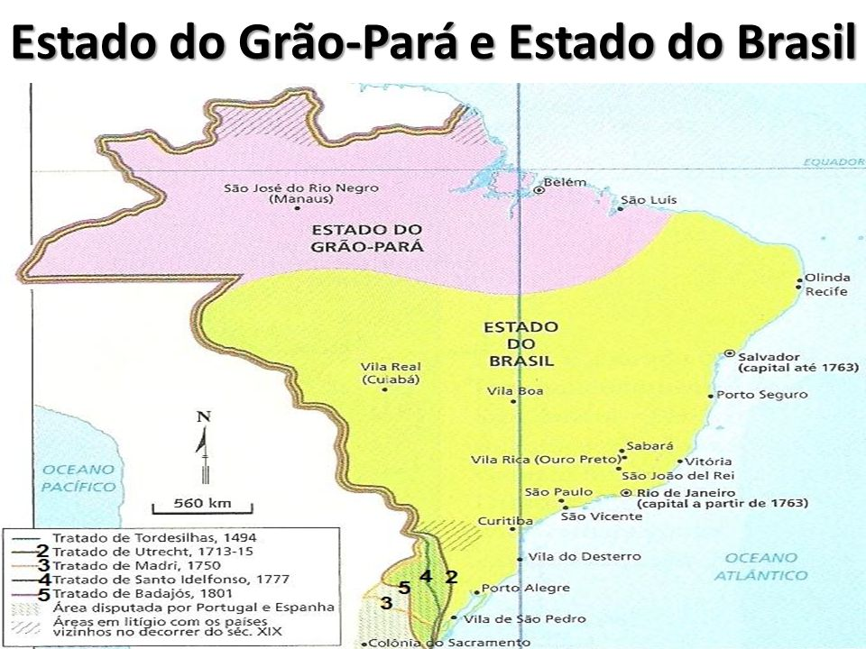 Estado do Grão-Pará e Estado do Brasil