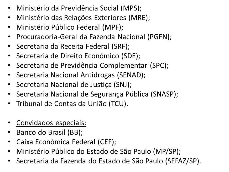 Ministério da Previdência Social (MPS);