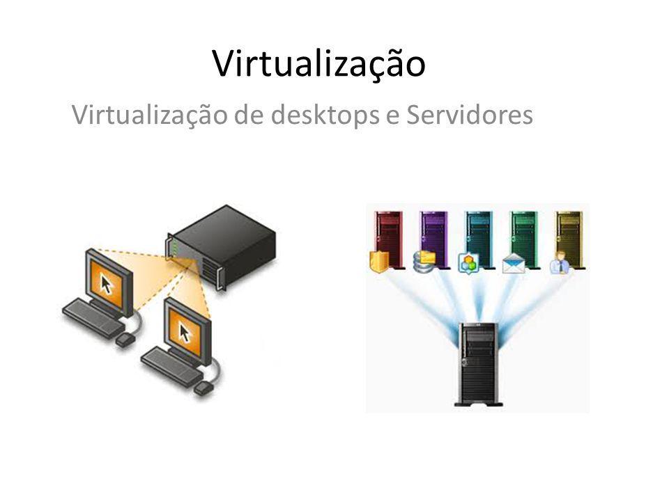 Virtualização de desktops e Servidores