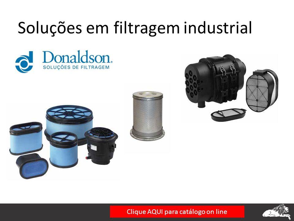Soluções em filtragem industrial