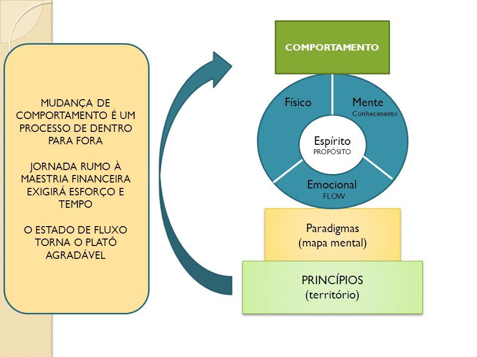 Espírito Físico Mente Emocional Paradigmas (mapa mental) PRINCÍPIOS