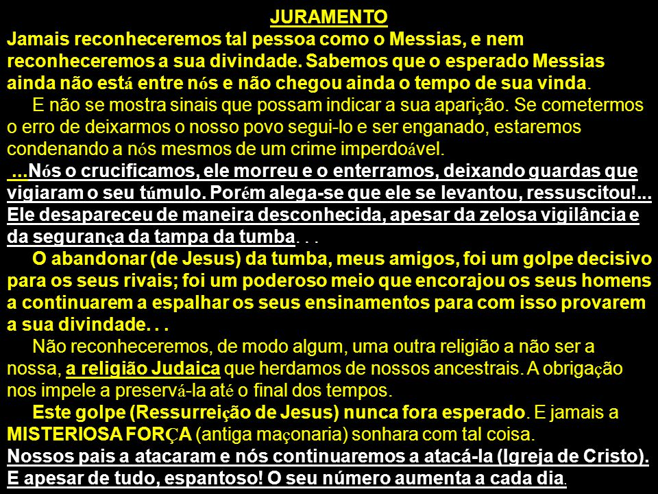JURAMENTO