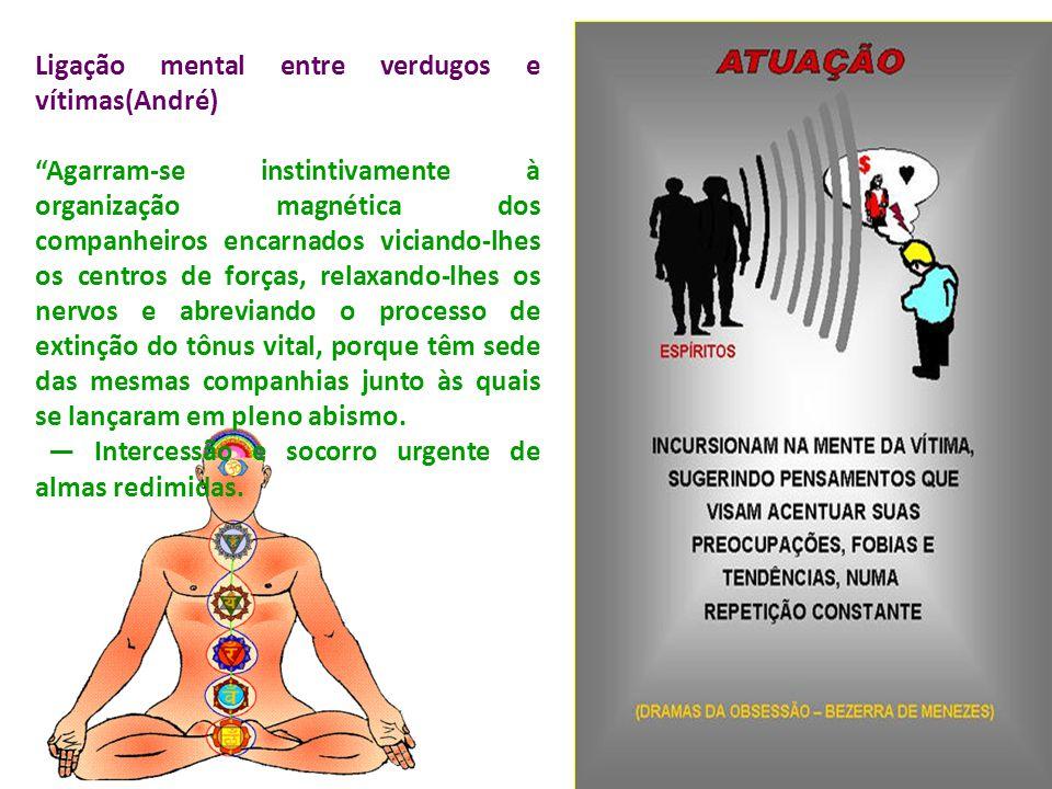 Ligação mental entre verdugos e vítimas(André)