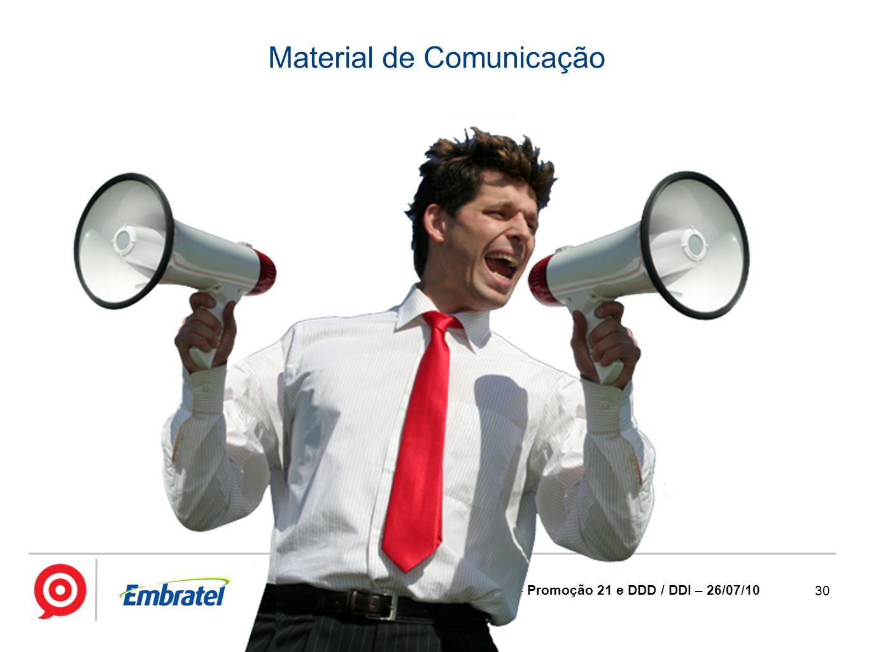 Material de Comunicação